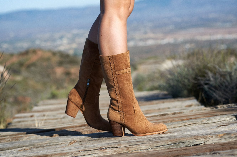 Botas altas camperas marrón