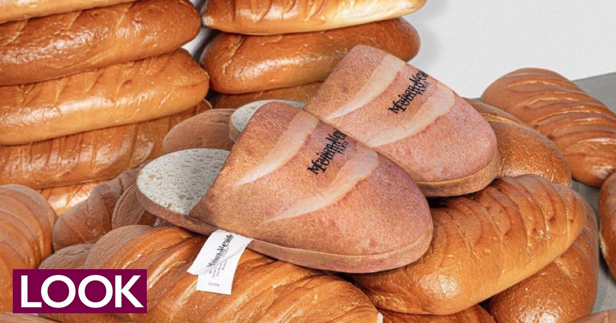 Pantuflas de pan rapero Tommy Cash para Margiela