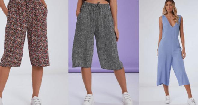 nueva colección de pantalones celestino