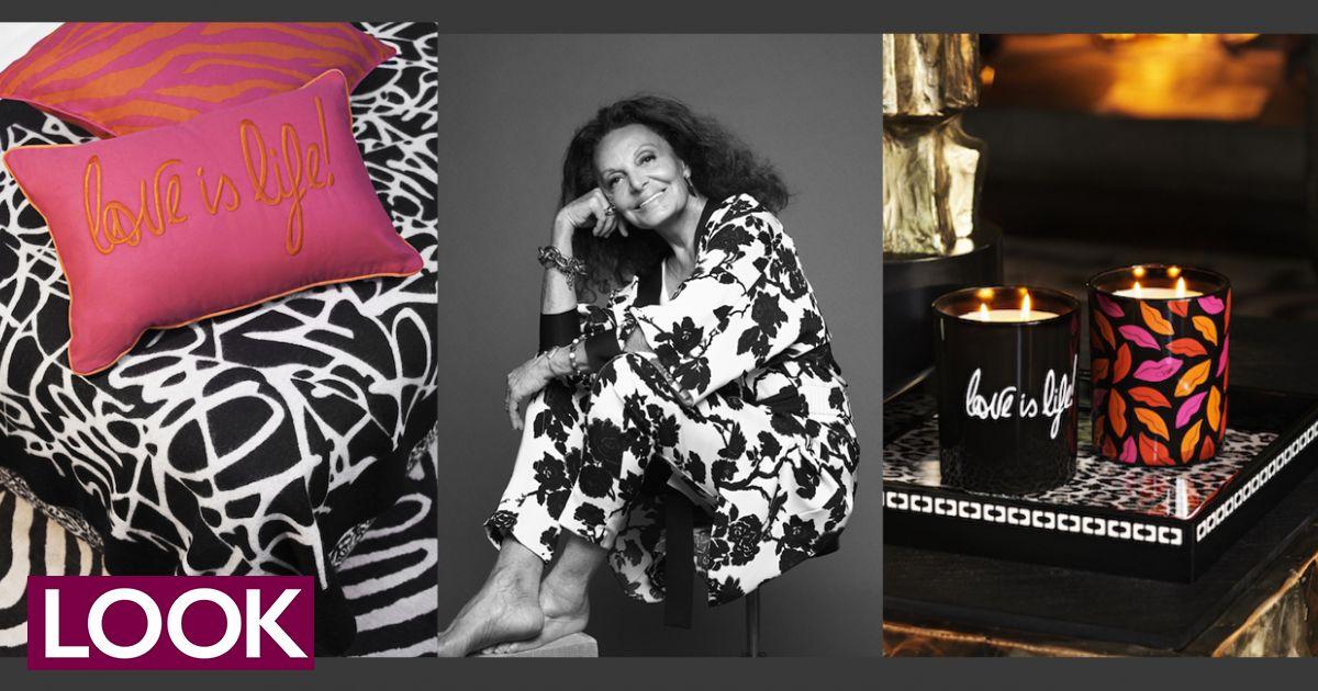 Diane Von Furstenberg diseñó una colección para H&M Home