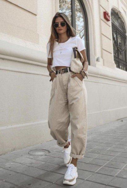 falda blusa corta