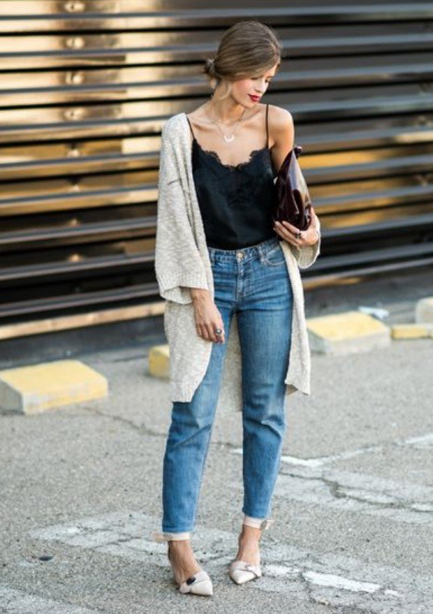 ropa de mujer con jeans