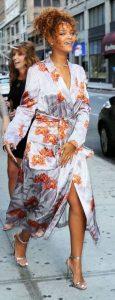 vestido kimono satinado