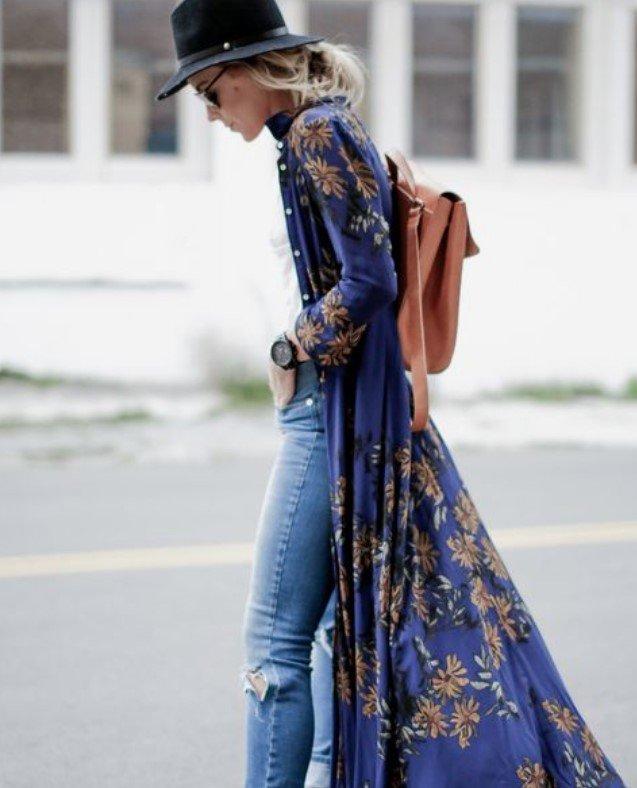 kimono bohemio