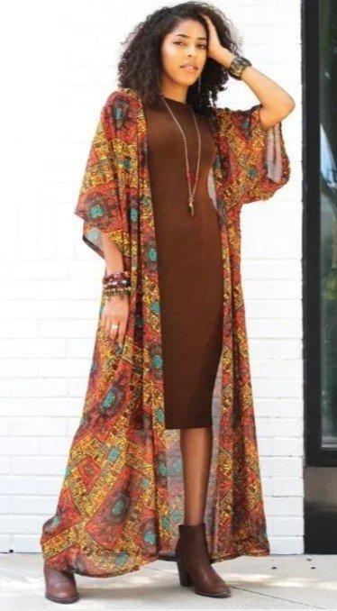 vestido para boho vestido de primavera