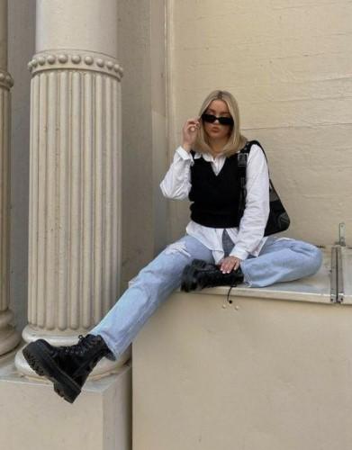 jeans camisa chaleco trajes de mezclilla de moda
