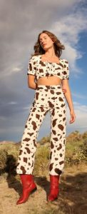 vestido de vaca