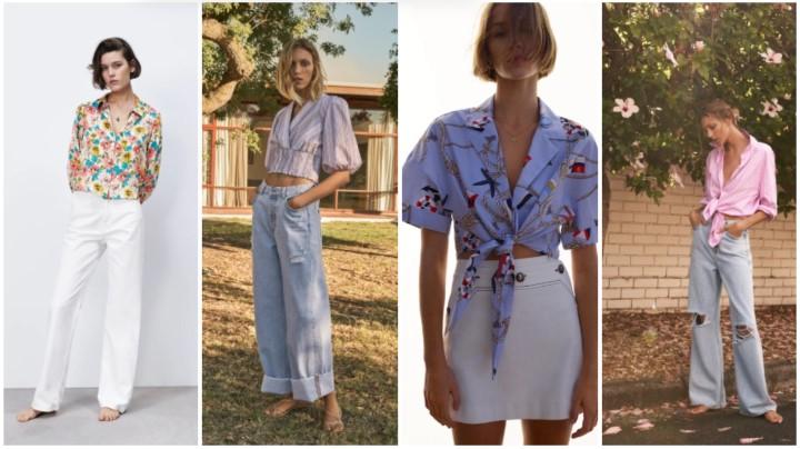 camisetas de colores claros ropa de verano Zara 2021