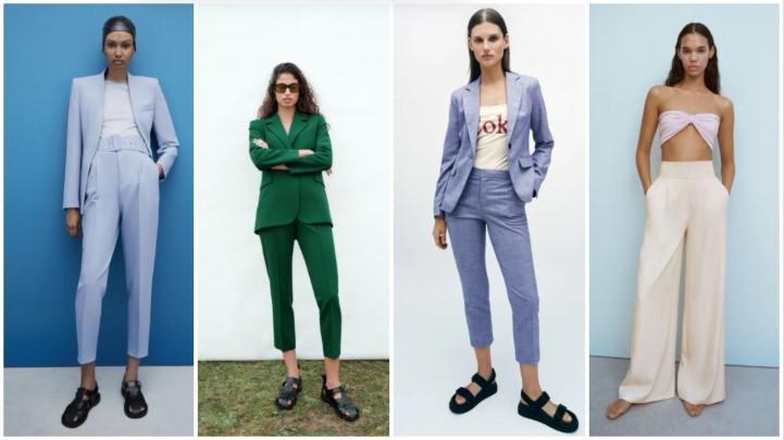 pantalones de oficina ropa de verano Zara 2021