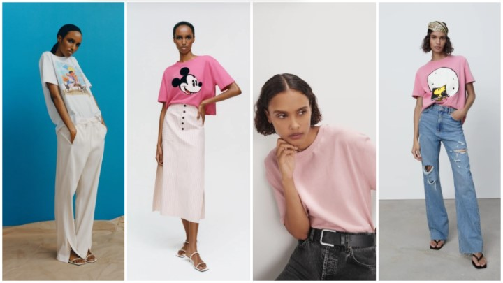 Camisetas camisetas ropa verano Zara 2021