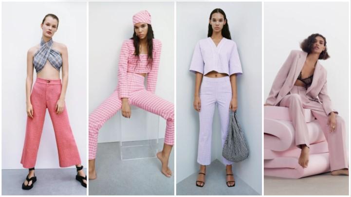 pantalón rosa ropa verano Zara 2021