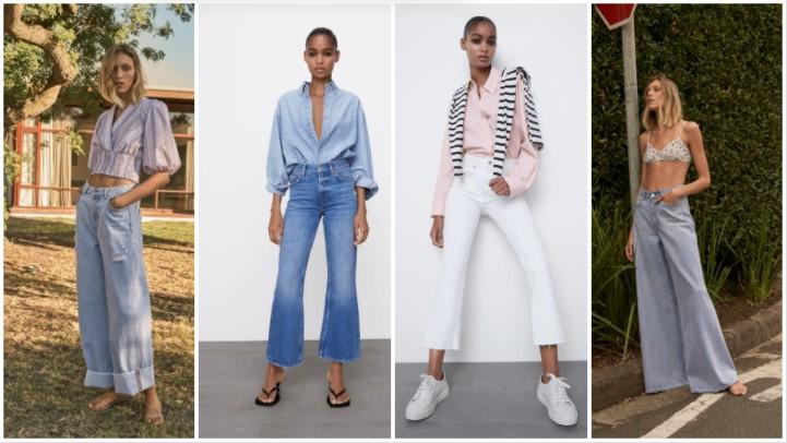 jeans clásicos ropa de verano Zara 2021