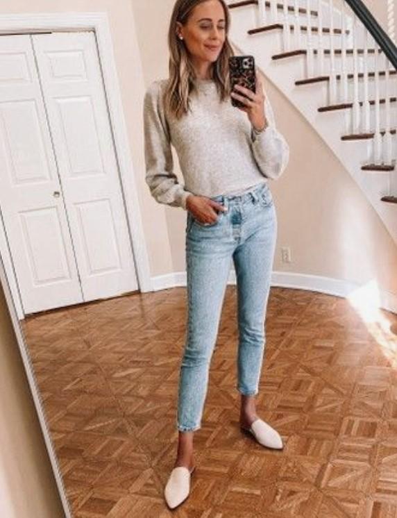 zapatos beige espalda abierta ropa primavera armario