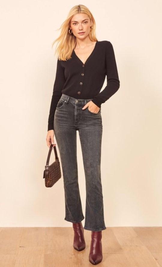 atuendo con jeans