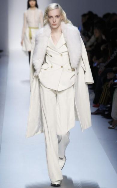 traje blanco abrigo blanco traje blanco de invierno