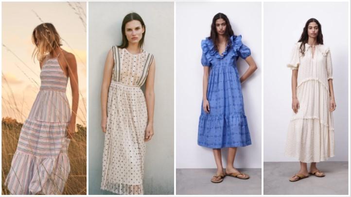 vestidos románticos ropa de verano Zara 2021