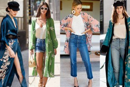 12 ideas modernas de vestidos de primavera con kimono!