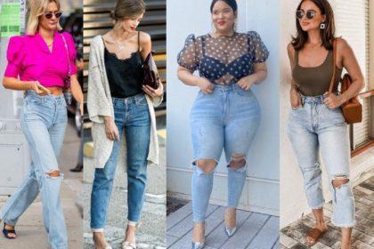 10 combinaciones de verano con jeans de mujer en 2021