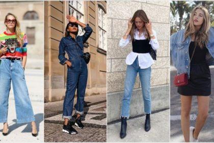 ¡5 trajes modernos y elegantes con piezas de mezclilla!