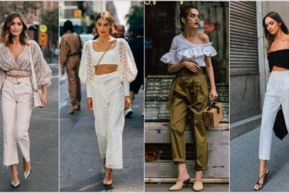 ¡5 formas de combinar pantalones de cintura alta!