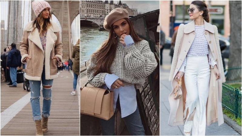 ¡7 formas de usar colores claros en invierno!