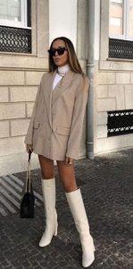 chaqueta oversize