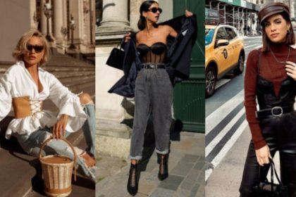 ¡4 formas de llevar un corsé con estilo!