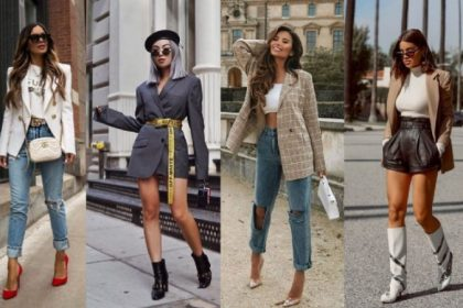 ¡4 formas elegantes de llevar una chaqueta!