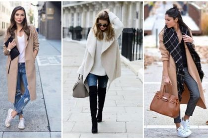 ¡8 combinaciones únicas de ropa con abrigo!