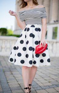 ropa en blanco y negro