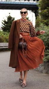 ropa marrón