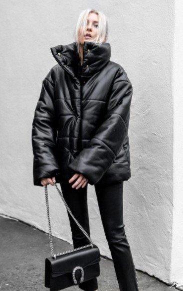 chaqueta acolchada