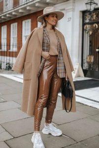 ropa de invierno con estilo