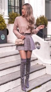 ropa gris beige