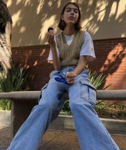 atuendo diario con jeans