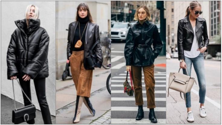 ¡Maravillosas chaquetas de cuero para mujer para todos los gustos!