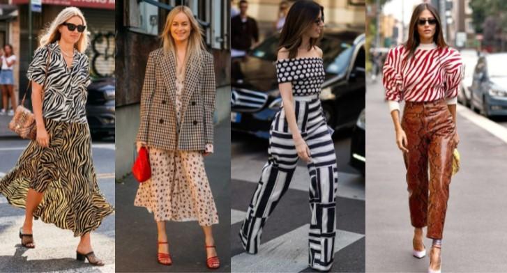 ¡Cómo combinar 2 patrones en un mismo outfit!
