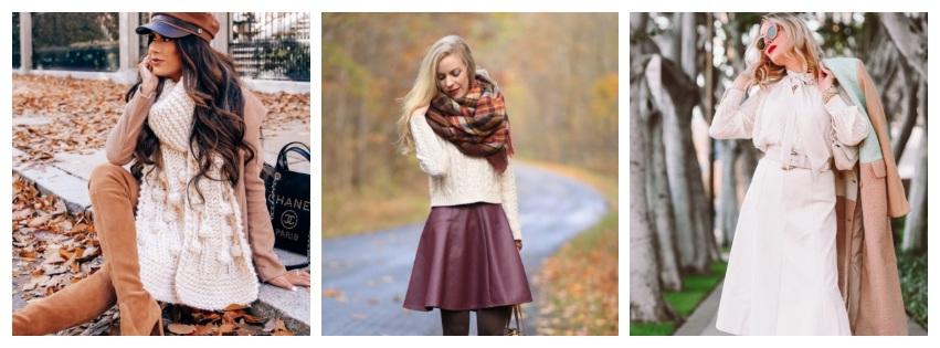 ¡Las 6 mejores combinaciones de colores para la ropa de invierno!