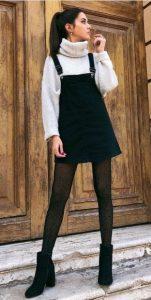 vestido de overol