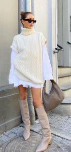 ropa de mujer con chaleco