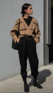 ropa de mujer con rebeca
