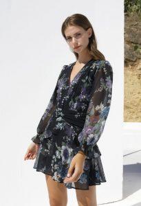 mini vestido floral