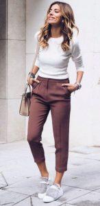 pantalones con blusa