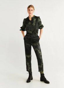 pantalones tipo militar