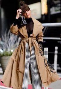 abrigo beige ropa colorida ropa de invierno beige