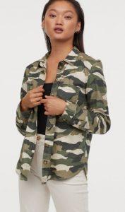 camisa casual militar mujer ediva.gr