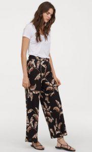 pantalones holgados de jersey de otoño