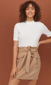 faldas de bolsa de papel invierno 2020