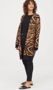 chaqueta zebra mujer h & m 2020