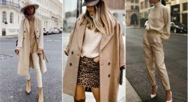 ¡21 formas de combinar tu ropa beige en invierno!